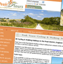 Peak Tours Website