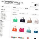 Moda Handbag website