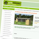 Ultra Dog Kennels website
