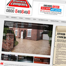 Lancashire and Cheshire Driveways website